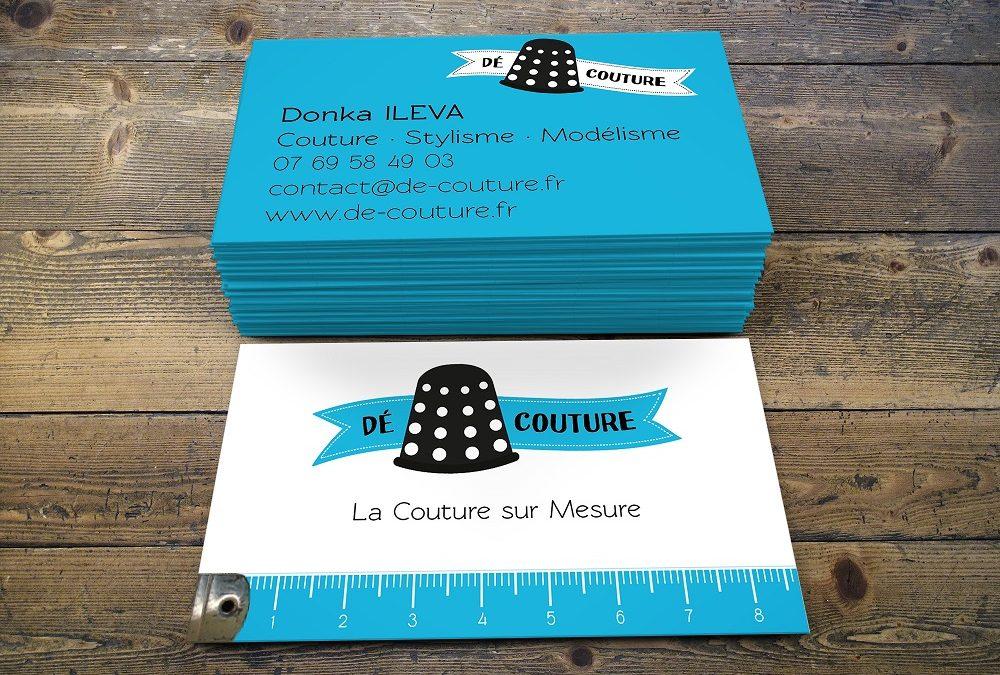 De Couture – Carte de visite
